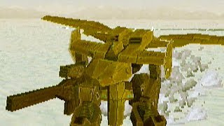 GunGriffon II (1998) Scenario Playthrough / SEGA Saturn