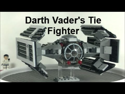 Lego Star Wars Darth Vaders Tie Fighter 8017 Review Youtube