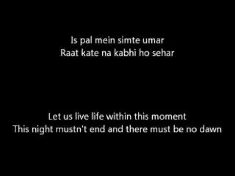 Pal Pal Har Pal from Lagey Raho Munna Bhai Lyrics and Meaning