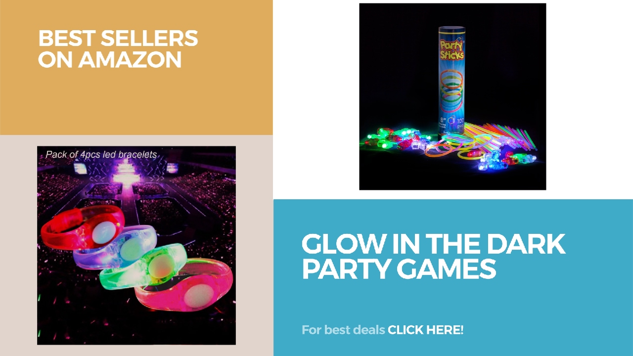Glow In The Dark Party Games Best Sellers On Amazon