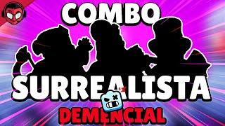 EL COMBO MÁS SURREALISTA PARA GANAR PELEA ROBÓTICA EN DEMENCIAL ¡¡Y SIN BUGS!! | Brawl Stars
