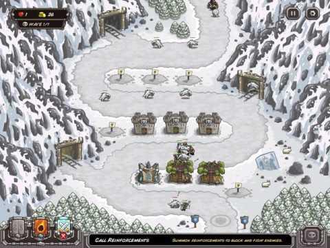 Kingdom Rush Walkthrough / Coldstep Mines / Iron Challenge / Veteran / 1080p60