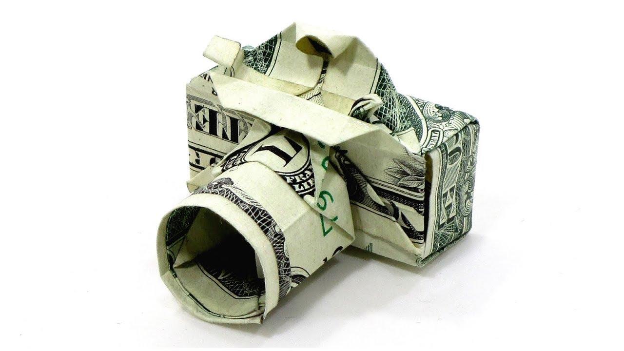 Money Origami TYRANNOSAURUS Dollar Bill Art Made with real Cash T ... | 720x1280