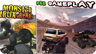 Monster Trux Arenas Special Edition Gameplay PS2