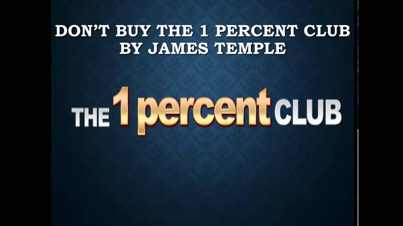 1 percent club binary options