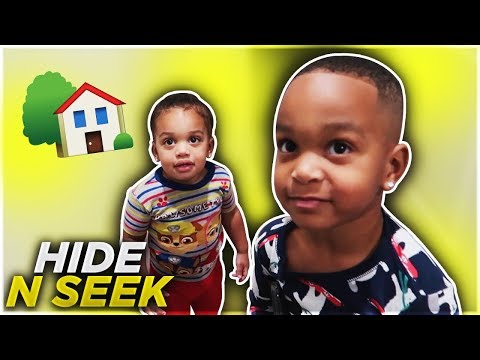 HIDE AND SEEK WITH KIDS IN THE NEW HOUSE!!