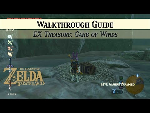 Breath of the Wild | EX Treasure: Garb of Winds [DLC 2] Side Mission