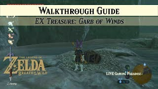Breath of the Wild   EX Treasure: Garb of Winds [DLC 2] Side Mission