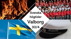 Lär dig svenska - Svenska högtider - Valborg (Valborgsmässoafton)