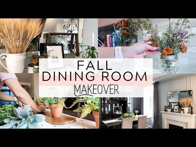 Decorate With Me | Fall Dining Room Makeover