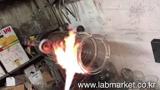 이중자켓반응조 수리하는 영상 입니다. 랩마켓,Labma…