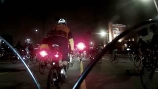 Start of the LA Marathon Crash Ride March 19, 2017