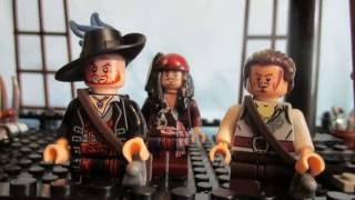 LEGO Pirates of the Caribbean/ The stolen wig ( Sea battle)