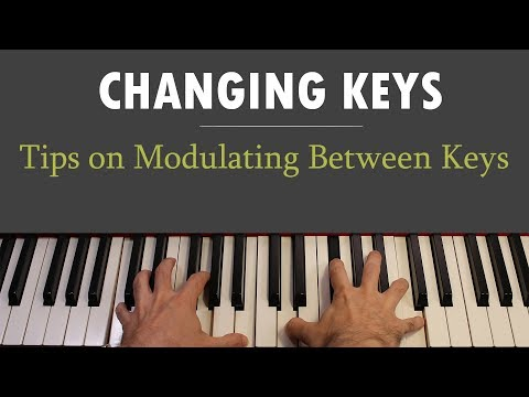 Magical Key Changes: How to modulate between keys in a song