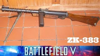 ZK-383 REVIEW, WITH FINNTROLL 1984 (PANZERSTORM MAP BATTLEFIELD V)
