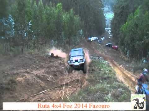 XI ruta 4x4 foz 2014 fazouro jeep prueba por zona donde no sube nadie arviza