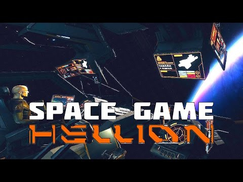 Hellion - New Space Game with Full Newtonian Physics
