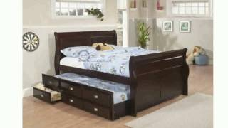 Queen Bed with Trundle