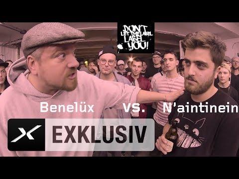 Rap-Battle (Runde 2) - Fußball Bars: Benelüx - N'aintinein | DLTLLY | Rap Battles | SPOX