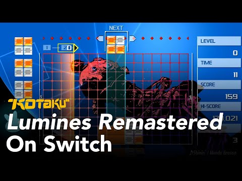 Lumines Remastered Feels Better Than Ever On Switch