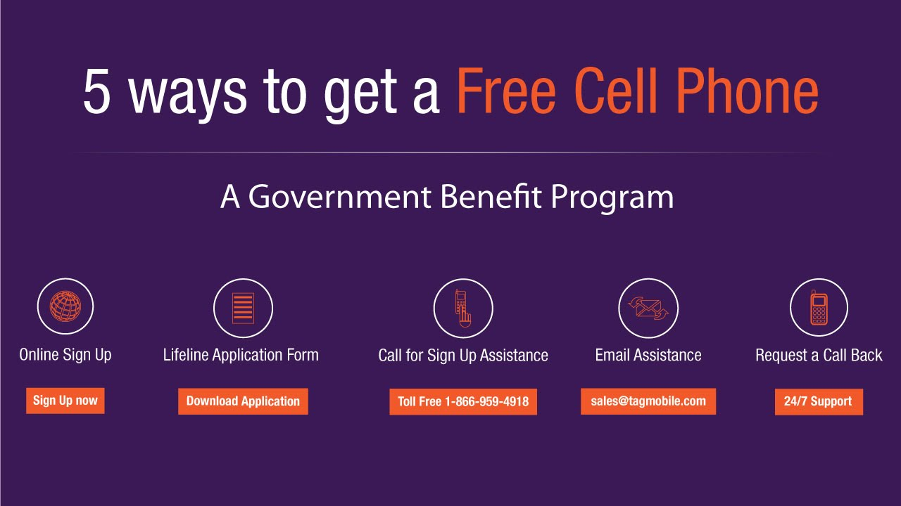 Five Ways to Get a Free Phone - TAG Mobile