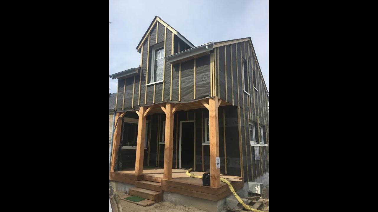 Maison En Bois Normandie conception, montage et isolation d'une maison bois par normandie biologi'k  et isologi'k