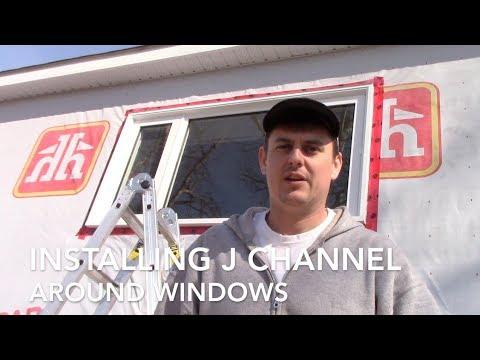 Installing J Channel Around Windows - 1950's Rental Property Renovation Part 4