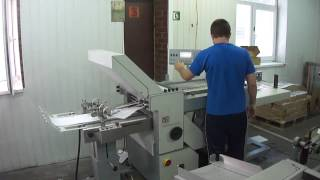 Фальцовка в Типографии Вольф в Киеве на Подоле(На видео показана в работе фальцевальная машина в типографии. Ее предназначение сгибать готовую полиграфи..., 2012-07-25T15:05:53.000Z)