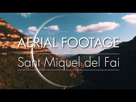 Sant Miquel Del Fai   Aerial Footage Drone