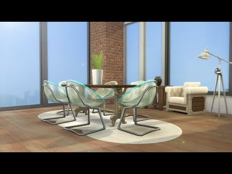 MODERN INDUSTRIAL APARTMENT // The Sims 4: Speed Build thumbnail