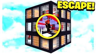 MINECRAFT ESCAPE the WORLD'S LARGEST DEATH CUBE! (MCPE)