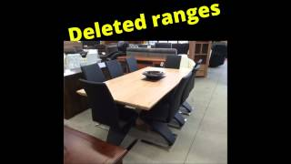 Warehouse Furniture Clearance