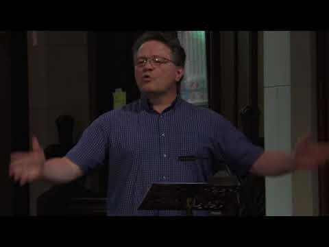 "Sept 3, 2017: Rev. Dr. Richard Topping ""Don't Just Do Something, Sit There!"" (Luke 10:38-42)"