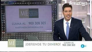 Martínez-Echevarría Abogados Cláusula Suelo