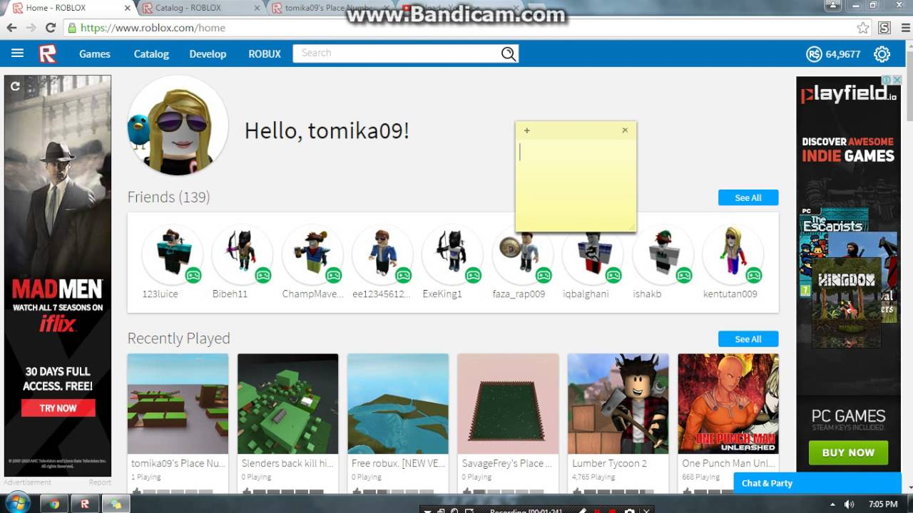 Roblox How to get free robux 2016 real you think this is ...