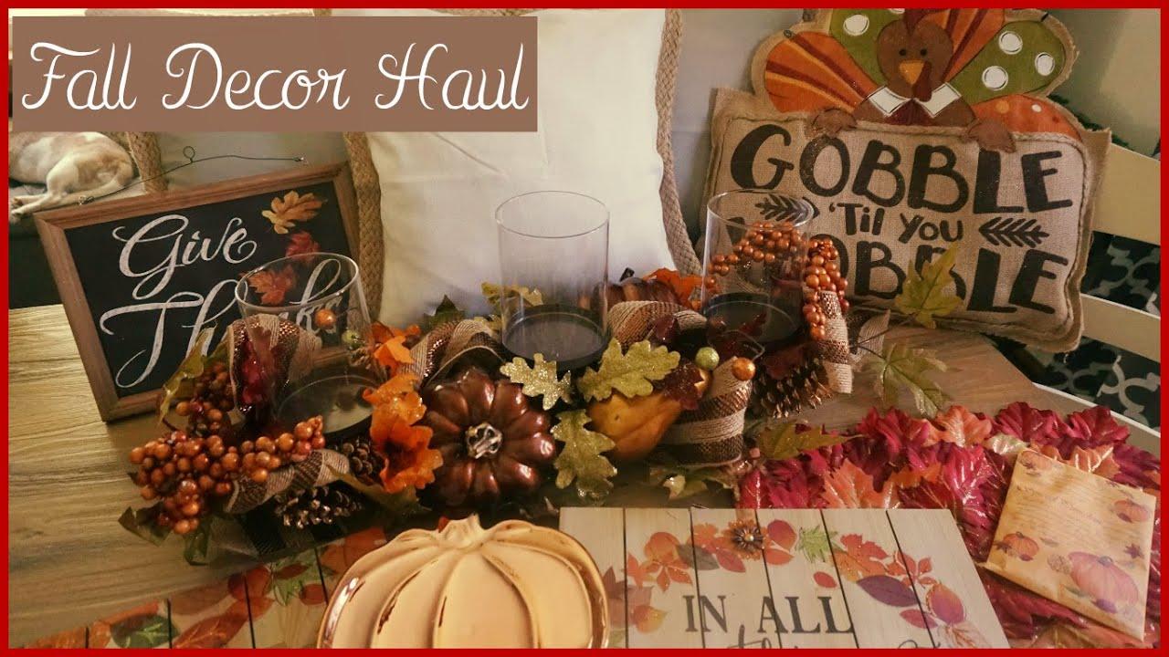 fall autumn 2016 home decor haul harvest time youtube fall autumn 2016 home decor haul harvest time