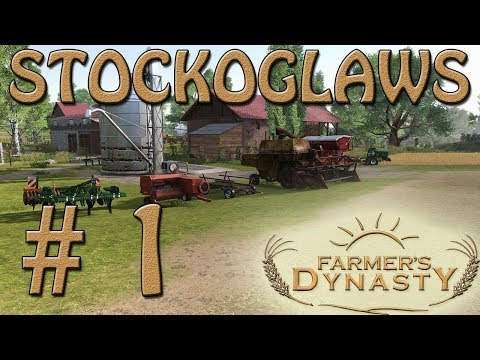 Lets Play Farmers Dynasty - Episode 1