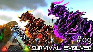 ARK: SURVIVAL EVOLVED - TAMING Lvl 4000 DRAGON GODS !!! E09 (MODDED ARK MYSTIC ACADEMY)
