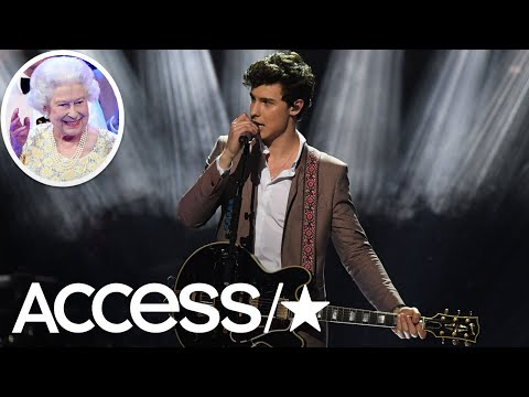 Shawn Mendes Reveals His Awkward Encounters With Queen Elizabeth & Meghan Markle!