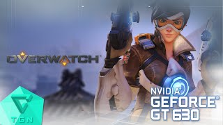 overwatch open beta   gameplay on gt630 2gb ddr3 hd 60fps