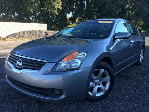 2007 Nissan Altima Sl Fully Loaded With Leather Seats Sunroof Heated Carfax Certified One Own