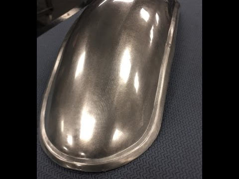 Beginner's Guide To Metal Fab!  Build Your Own Café Racer Fender.  Part 1 of 2.  Eastwood