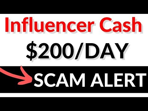Influencer Cash Reviews SCAM Or Legit? InfluencerCash.co EXPOSED Payment Proof
