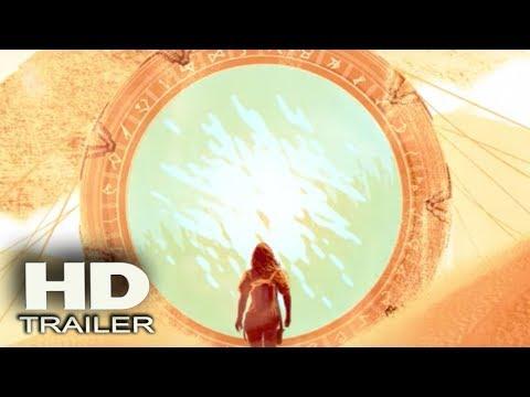 STARGATE ORIGINS     2017 Ellie Gall, Connor Trinneer SciFi TV