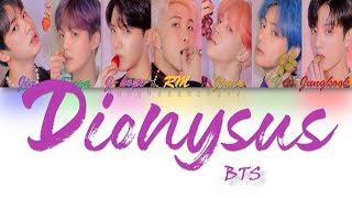 VOSTFR: BTS (방탄소년단) Dionysus (Parole code Couleur Han/Rom/VOSTFR)