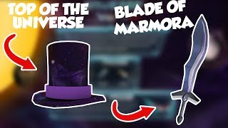 [END] ROBLOX - HOW TO GET TOP OF THE UNIVERSE HAT + BLADE OF MARMORA