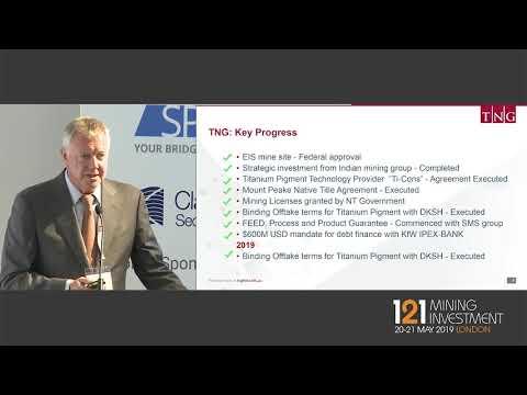 Presentation: TNG Ltd - 121 Mining Investment London 2019 Spring
