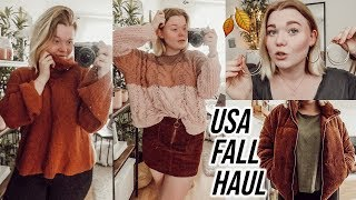 USA Herbst try on Haul 2019 I Meggyxoxo