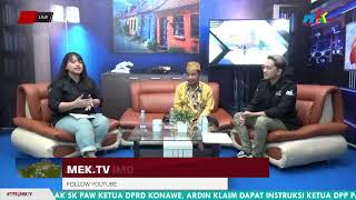 Selamat Pagi Sultra 8 January 2021 Bersama DR. BASRIN MELAMBA, M.A