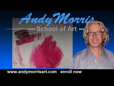 How to Paint Abstract Art - Acrylic Painting Techniques